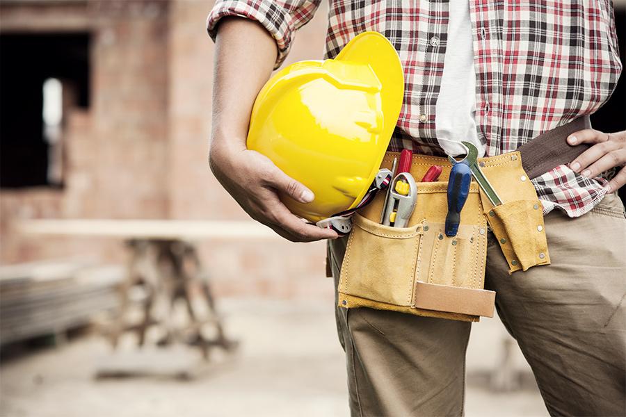 Защитные каски для строителей
