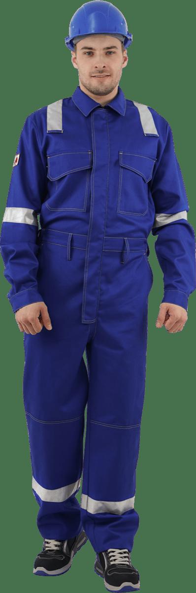 Комбинезон для защиты от ОПЗ и МВ из огнестойкой ткани распродажа от производителя спецодежды Spets.ru