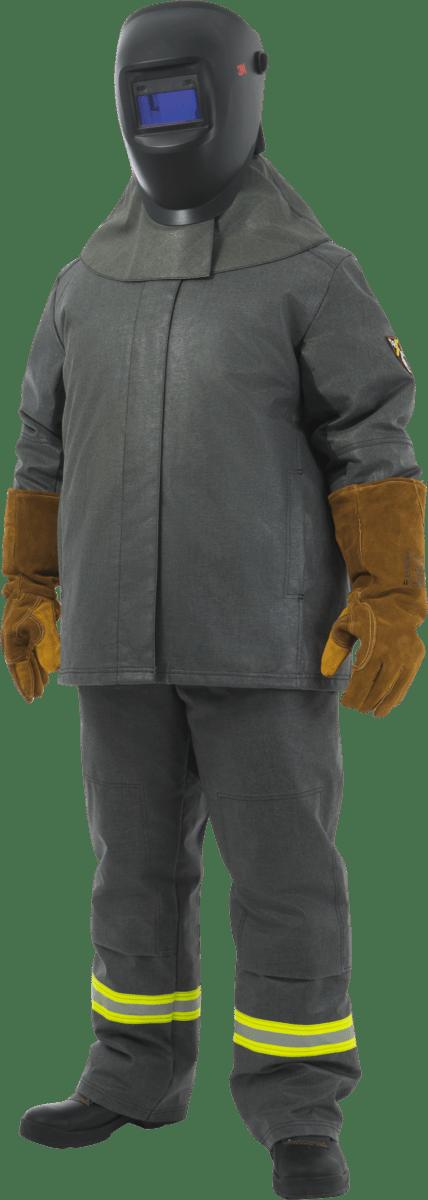 Купить Костюм сварщика ГИПЕРИОН ФРОСТ, утепленный для защиты от повышенных температур и кислот   Spets.ru