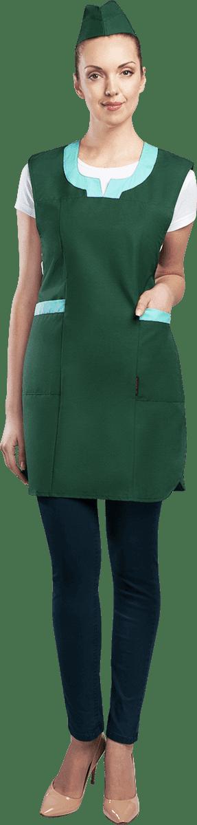 Купить Униформа НИКА, т/зеленый-салат - спецодежда для сферы услуг от производителя | Spets.ru